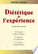 Diététique de l'expérience