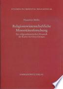 Religionswissenschaftliche Minoritätenforschung