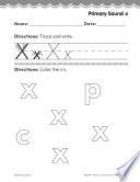 Pre Kindergarten Foundational Phonics Skills  Primary Sound x