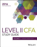 Wiley Study Guide for 2016 Level II CFA Exam  Corporate finance   equity