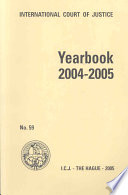 Yearbook of the International Court of Justice 2004 2005