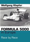 Formula 5000 in Europe