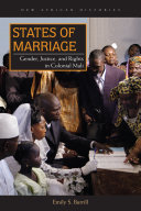 States of Marriage In French Sudan Present Day Mali The Institution