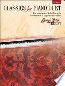 Classics for Piano Duet  Book 1