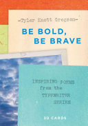Be Bold  Be Brave  30 Cards  Postcard Book