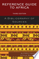 Reference Guide to Africa A Bibliography of Sources