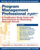Program Management Professional  PgMP