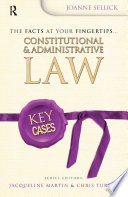 Key Cases  Constitutional and Administrative Law