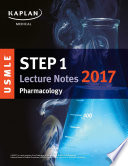 USMLE Step 1 Lecture Notes 2017  Pharmacology