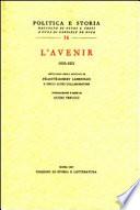 L'Avenir, 1830-1831