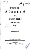 Musikalischer Almanach für Deutschland