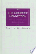 The Sometime Connection Development Of Social Policy In The United States