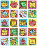 School Days: Kid-Drawn Motivational Stickers