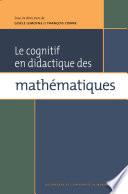 illustration Le cognitif en didactique des mathématiques