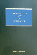 Colinvaux s Law of Insurance