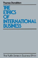 The Ethics Of International Business