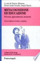 Metacognizione ed educazione
