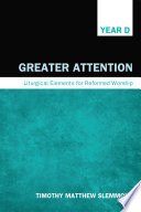 Ebook Greater Attention Epub Timothy Matthew Slemmons Apps Read Mobile