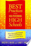 Best Practices From High Performing High Schools book