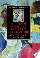 The Cambridge Companion to African American Women's Literature A Period Dating Back To The Eighteenth Century