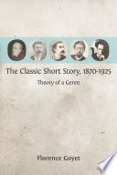 The Classic Short Story  1870 1925