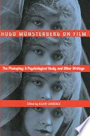 Hugo Munsterberg on Film