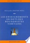 illustration du livre Les Enseignements secrets des Bouddhistes tibétains