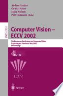 Computer Vision - ECCV 2002
