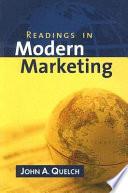 Readings in Modern Marketing