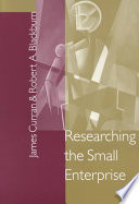 Researching the Small Enterprise