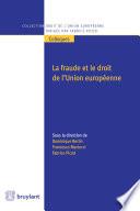 La Fraude Et Le Droit De L Union Europ Enne