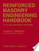 Reinforced Masonry Engineering Handbook