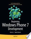 illustration Beginning Windows Phone 7 Development