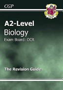 A2 Level Biology Ocr Revision Guide