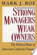 Strong Managers  Weak Owners