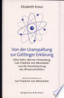 Von der Uranspaltung zur Göttinger Erklärung