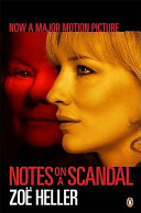 . Notes on a Scandal .