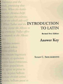 Introduction to Latin Answer Key