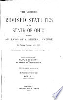 The Verified Revised Statutes of the State of Ohio