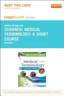 Medical Terminology   Pageburst on KNO Retail Access Code