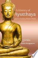 A History of Ayutthaya