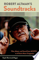 Robert Altman s Soundtracks