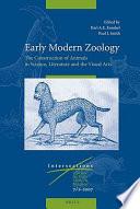 Early Modern Zoology
