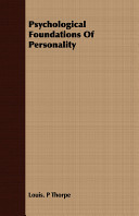 Psychological Foundations of Personality