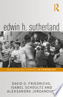 Edwin H  Sutherland