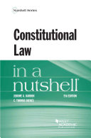 Constitutional Law in a Nutshell