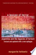 A Lexicon of Terror