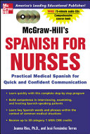 McGraw-Hill's Spanish for Nurses (Book + 3CDs)