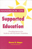 Handbook on Supported Education