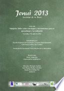 Actas de simposio-taller Estrategias y herramientas para el aprendizaje y la evaluación (Jenui 2013)